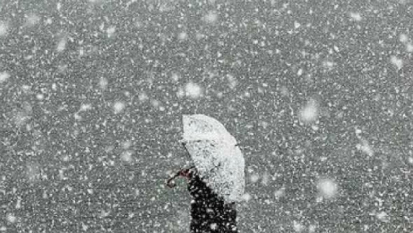 Foto: Meteorologii au emis cod galben de zăpadă și lapoviță