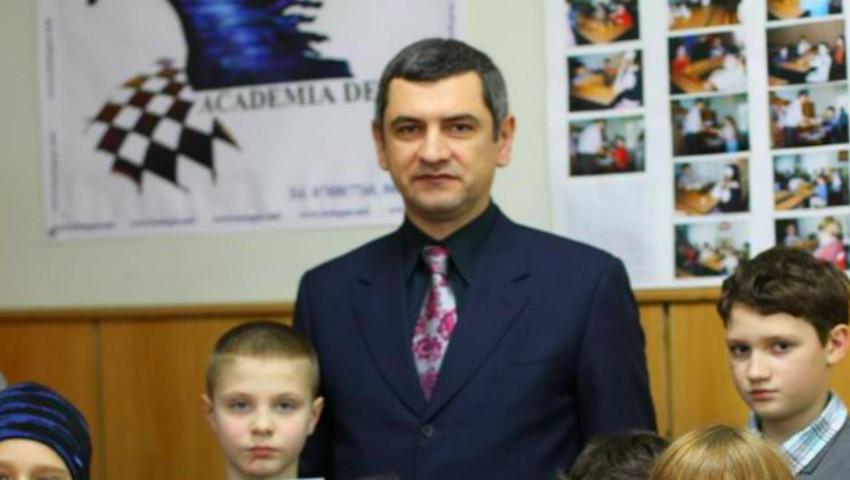 Foto: Viorel Bologan a fost numit Director executiv al Federației mondiale de șah