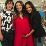Foto: Adela Popescu a intrat în concediu de maternitate