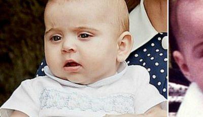 Prinţul Louis este copia mamei sale, Kate Middleton, în copilărie. Vezi imaginea!