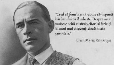 Cele mai înțelepte citate despre dragoste, viață și femeie ale scriitorului Erich Maria Remarque