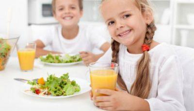 Copiii preșcolari și elevii din ciclul primar vor învăța despre alimentația sănătoasă
