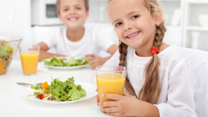 Foto: Copiii preșcolari și elevii din ciclul primar vor învăța despre alimentația sănătoasă