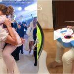 Foto: Elena Băsescu, mândră de copiii ei! Vezi cum se joacă Traian și Sofia cu surioara mai mică