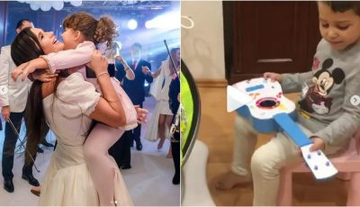 Elena Băsescu, mândră de copiii ei! Vezi cum se joacă Traian și Sofia cu surioara mai mică