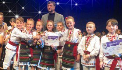 """Studioul de dans pentru copii ,,JOC"""" a obținut locul întâi la un concurs internațional"""