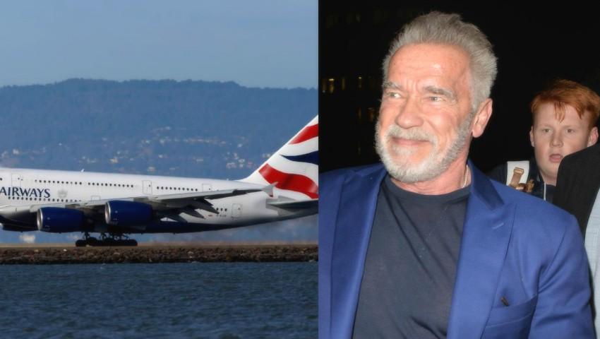 Foto: O aeronavă, la un pas de a se prăbuși din cauza unei erori tehnice. În avion se afla și Arnold Schwarzenegger