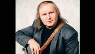 Interpretul Anatol Dumitraș ar fi împlinit astăzi 63 de ani