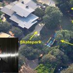 Foto: Un parc de distracții imens a apărut în curtea casei lui Brad Pitt