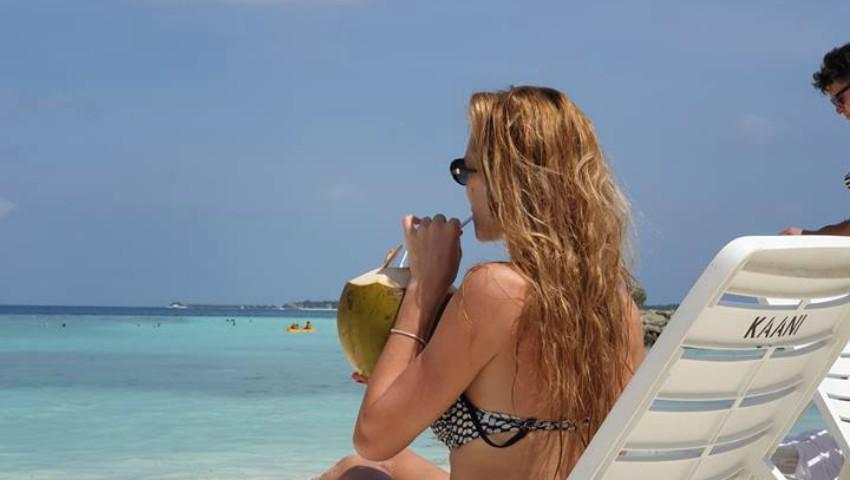 Foto: Vacanță de vis! Tatiana Heghea se odihnește alături de cei dragi în Maldive