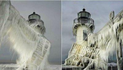 Foto! Cele mai frumoase peisaje de iarnă din diferite colțuri ale lumii