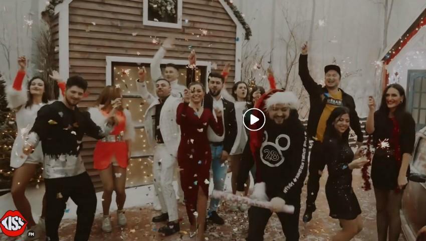"""Foto: HO! HO! HO! Merry KISSmas!Cover """"Sărbători Fericite"""" by Kiss FM"""