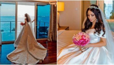 Nuntă de lux în Dubai! O moldoveancă și iubitul ei și-au unit destinele într-un decor de poveste