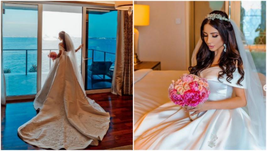 Foto: Nuntă de lux în Dubai! O moldoveancă și iubitul ei și-au unit destinele într-un decor de poveste