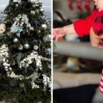 Foto: Eva Longoria, imagini adorabile cu fiul ei lângă bradul de Crăciun! Ce mare a crescut Santiago