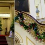 Foto: Video! Familia Regală a decorat Palatul Buckingham de Crăciun. Arată ca în basm!