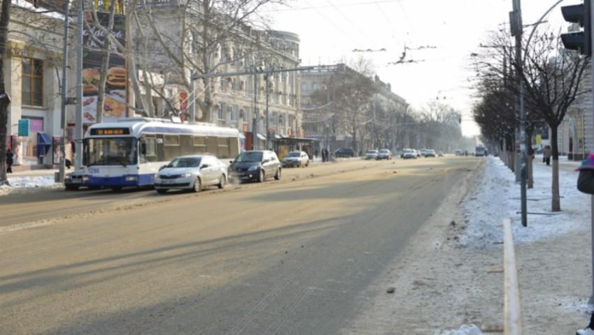 Foto: Atenție! Circulația pe mai multe străzi din Capitală, sistată până la sfârșitul lunii