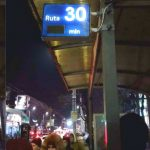 Foto: La o stație din Chișinău a apărut un panou electric care arată numărul troleibuzului ce se apropie