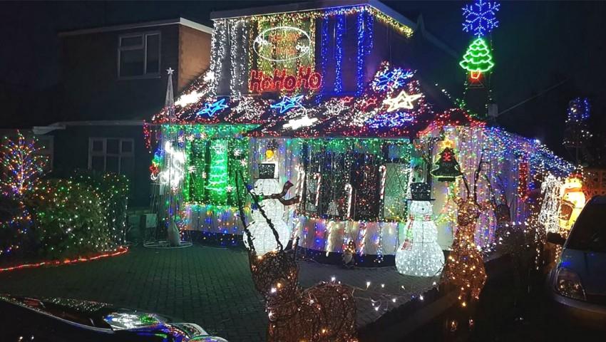 Foto: Aceasta e cea mai împodobită casă de Crăciun. Foto