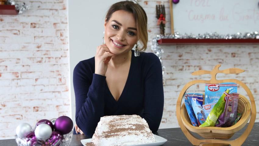 """Foto: Tortul """"Cușma lui Guguță"""" – deliciu culinar pregătit de Cornelia Ștefăneț"""