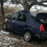 Foto: Doi soți, morți într-un grav accident la Cimișlia. Un copil de 4 ani a rămas orfan