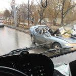Foto: Accidentul fatal din centrul Capitalei a fost surprins de camerele video