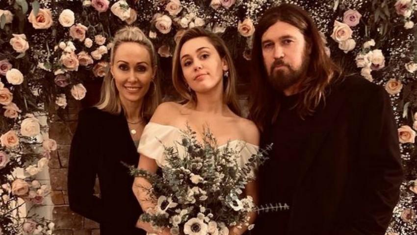 Foto: Noi imagini de la nunta lui Miley Cyrus