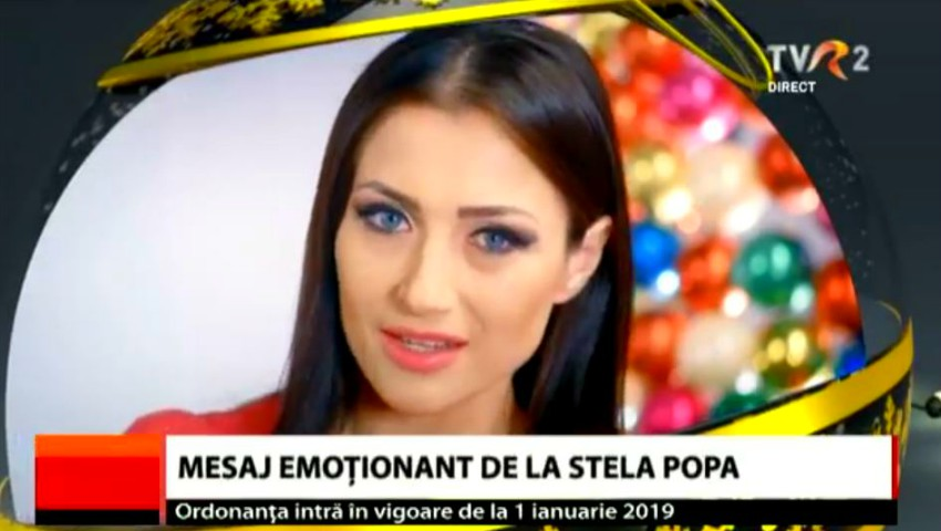 Foto: Mesaj emoționant de felicitare! Stela Popa, o mândră basarabeancă la TVR