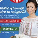 Foto: Cornelia Ștefăneț, imaginea unei campanii marca Dr. Oetker
