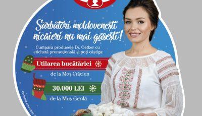 Cornelia Ștefăneț, imaginea unei campanii marca Dr. Oetker