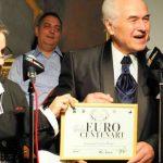 Foto: Maestrul Eugen Doga a fost onorat la București cu Premiul Euro CentenArt