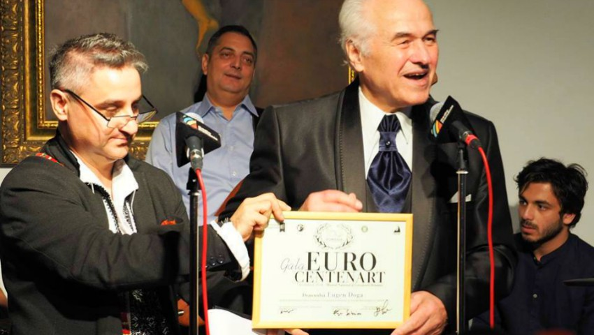 Maestrul Eugen Doga a fost onorat la București cu Premiul Euro CentenArt