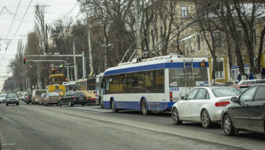 Foto: Atenție, șoferi! Se suspendă traficul pe o stradă din centrul Capitalei