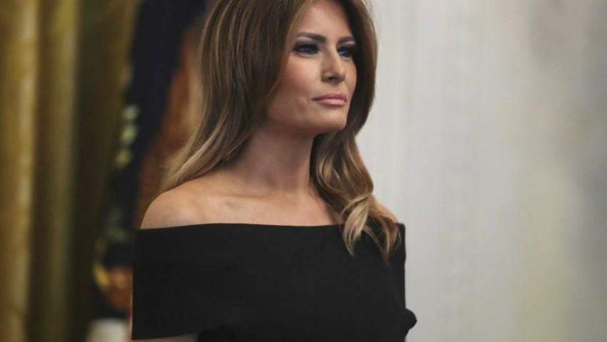 Foto: Melania Trump, într-o rochie complet albă, la Balul Congresului SUA