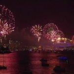Foto: Anul Nou a sosit în Sydney Harbour, Australia