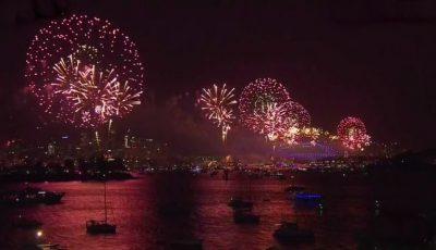 Anul Nou a sosit în Sydney Harbour, Australia