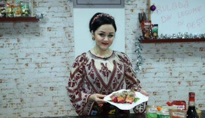 Online Cooking Show cu Lenuța Gheorghiță – Ruladă din legume cu pește