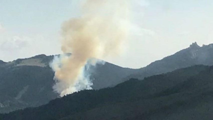 Foto: Incendiu la Brătuleni: doi soți și copilul lor, de 6 ani, și-au pierdut viața