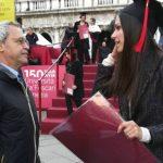 Foto: O tânără moldoveancă a devenit cea mai bună studentă din Veneția