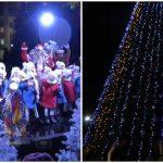 Foto: Foto. Bradul de Crăciun a fost inaugurat în PMAN! Vezi cum arată