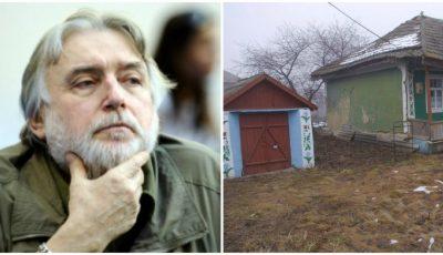 Casa părintească a lui Adrian Păunescu, de la Copăceni, se află într-o stare jalnică