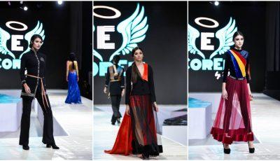 Creațiile unui designer moldovean au făcut furori la Bucharest Fashion Week – colecția inedită prezentată în Anul Centenarului!