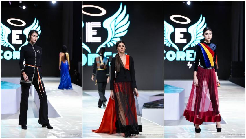 Foto: Creațiile unui designer moldovean au făcut furori la Bucharest Fashion Week – colecția inedită prezentată în Anul Centenarului!