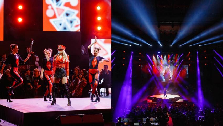 Natalia Gordienko a făcut show pe scena Palatului Național. Galerie foto de la concertul aniversar!