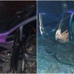 Foto: Accident grav la Ștefan Vodă: o femeie și-a pierdut viața. Mașina era condusă de fiica acesteia