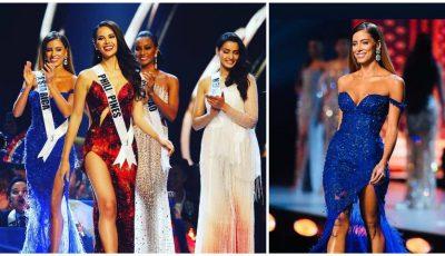 Senzațional! O finalistă Miss Universe 2018, în rochia unui designer din Moldova