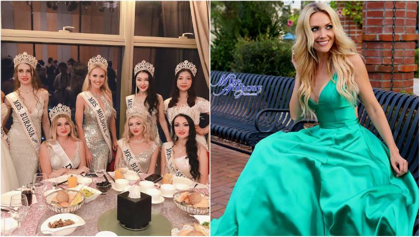 Foto: O moldoveancă stabilită în SUA a devenit câștigătoare în cadrul concursului de Miss din Florida