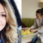 Foto: Cum arată Adela Popescu la două săptămâni după ce a născut. Nici nu zici că a fost însărcinată
