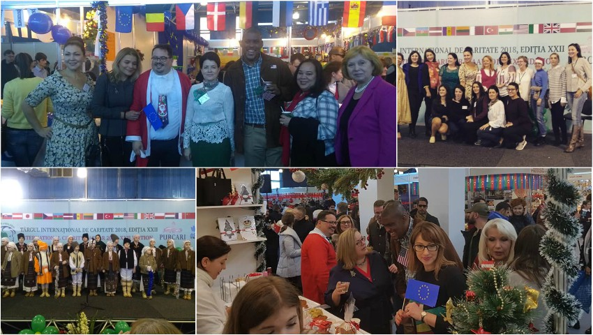 Foto: Chișinăul a găzduit cea de-a XXII-a ediție a Târgului Internațional de Caritate!