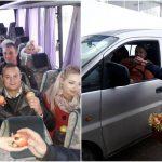 Foto: Surprize la vamă! Moldovenii care vin acasă de sărbători primesc în dar câte un măr
